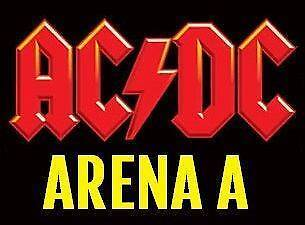 ACDC Standing Tickets Melbourne 6/12 ARENA 1 section sold out Carlton Melbourne City Preview