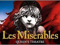 Premium Les Miserables tickets