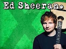 Ed Sheeran Concert Sold out show Wednesday 2nd December 5pm Duncraig Joondalup Area Preview