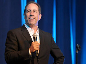 Jerry Seinfeld exclusive 2 Tickets - won't last long!