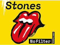 Rolling Stones - Coventry - NO FILTER PIT - 2 Tickets - 1000 Total