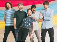 Two excellent tickets for Kaiser Chiefs at Brighton, Tuesday 28th February, 7p.m.