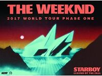 2x Standing Tickets for The Weeknd @ Metro Radio Arena in Newcastle Upon Tyne