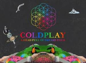 Coldplay Concert Melbourne Dec. 9, 2016 x2 Tickets Melbourne CBD Melbourne City Preview