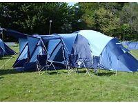 Vango Diablo 600 family tent.