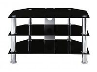 ***Great condition 3 tier black TV Stand***