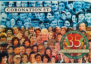 Coronation Street 35 Year Anniversary Collectible Jigsaw Puzzle