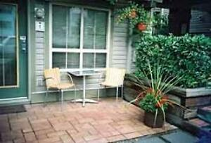 Kitsilano Studio Apartment - Patio Fireplace Gated Entrance #074 Downtown-West End Greater Vancouver Area image 2