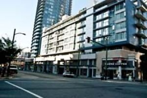 Fully Furnished Downtown Vancouver Condo - 1 Bedroom + Den #597