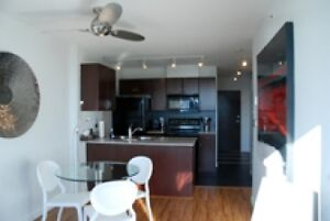 Contemporary Urban Condo Off Robson Street Fully Furnished #565