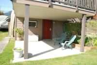 Newly Renovated 2 Bedroom Garden Suite Furnished North Vancouver