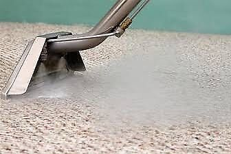 High pressure carpet steam cleaning