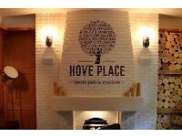 Hove Place Bistro Pub Is Looking For A Sous Chef