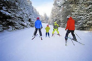 Cross country skis for the entire family