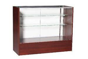 Brand New 122cm Full Vision Showcase Display Cabinet Counter Keysborough Greater Dandenong Preview