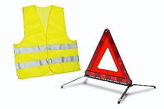 Genuine Peugeot 108 2014-2018 Warning Triangle and Safety Vest - 16179255 80