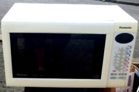 panasonic 3 in 1 combination microwave oven and grill