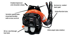 Echo PB770T Backpack Blower Brand New 5yr Warranty Kitchener / Waterloo Kitchener Area image 1
