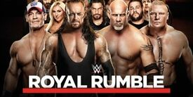 LET'S GET READY TO RUMBLE! WATCH THE WWE ROYAL RUMBLE