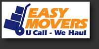 Easy Movers....at $40/HR, 1HR Travel Time, + Tax