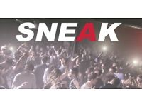 SNEAK - London's Best Student House Night