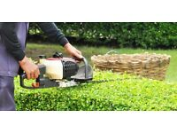 Gardening services - gardening, tree work, hedges, garden clearance - Hardwood logs for sale.