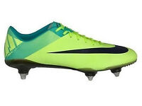 BRAND NEW BOXED NIKE VAPOR SUPERFLY III SG FOOTBALL BOOTS. UK SIZE 11.5