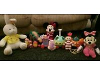 ninky nonk and a selection of as new toys for Christmas suit children 1-3 years
