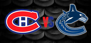 MTL Canadiens vs Vancouver Canucks January 7 2018