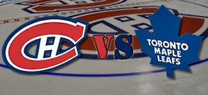 GIFT IDEA! LEAFS VS HABS IN MONTREAL ON OCTOBER 29TH & MORE!