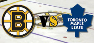 TORONTO MAPLE LEAFS VS BRUINS PLAYOFF TICKETS SUNDAY GO LEAFS