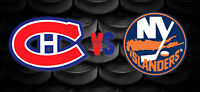 MONTREAL CANADIENS vs NY ISLANDERS RED TICKETS UNDER FACE VALUE!