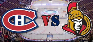 MONTREAL CANADIENS VS OTTAWA SENATORS ON SATURDAY MAR25 AND MORE