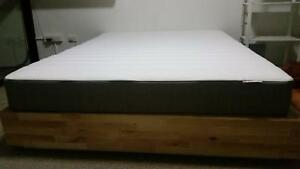 Queen Mattress + mattress pad set - Ikea Hamarvik + Talgje Newtown Inner Sydney Preview