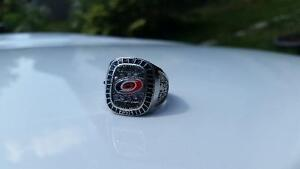 Carolina Hurricanes Stanley Cup collectible ring