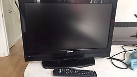 19 inch Full HD tv with DVD player and freeview