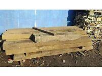 reclaimed railway sleepers - new and used
