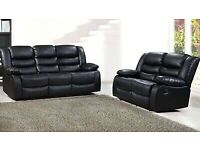 💖🎉Don't wait..! Order Now-Sale on CHICAGO RECLINER BLACK 3+2 SOFA AVAILABLE With fast delivery🎉💝