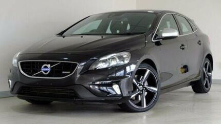 2015 Volvo V40 M Series MY16 T5 Adap Geartronic R-Design Black 8 Speed Sports Automatic Hatchback Hobart CBD Hobart City Preview