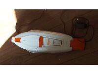 Vax H85-GA-B10 Gator Cordless Handheld Vacuum Cleaner, 0.3 L - White/Orange.