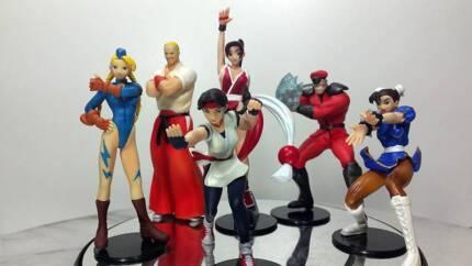 Capcom Vs SNK Gashapon Set of 6 Anime Figures