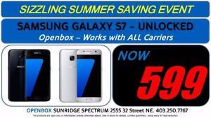 Samsung Galaxy S7 - 32GB - Openbox - Unlocked