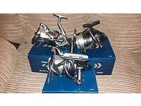 Daiwa EMCAST 5000A big pit reels X3