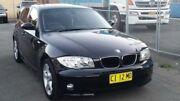2004 BMW 120I E87 Black 8 Speed Automatic Hatchback Granville Parramatta Area Preview