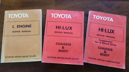 Toyota Workshop Manual - Hi-Lux