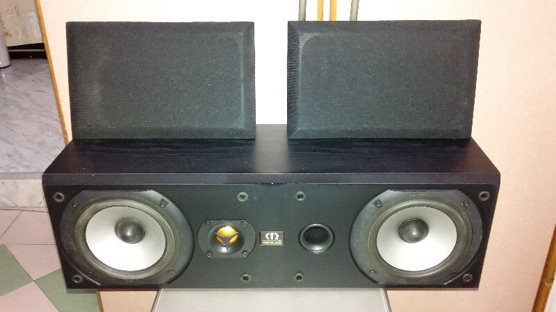 HI END MONITOR AUDIO BRONZE CENTRE SPEAKERS MADE IN ENGLAND.