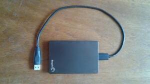 1 TB Seagate portable hard drive for sale barely used
