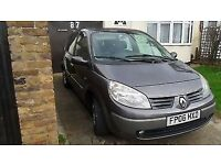 2006 RENAULT SCENIC 7 SEATER automatic