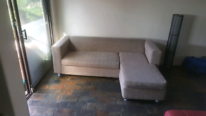 Beautiful small Freedom corner lounge, cream colour RRP $1900. Craigie Joondalup Area Preview