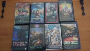 VHS films rares (science-fiction, post-apo)
